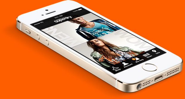 SuperDry iPhone5 App