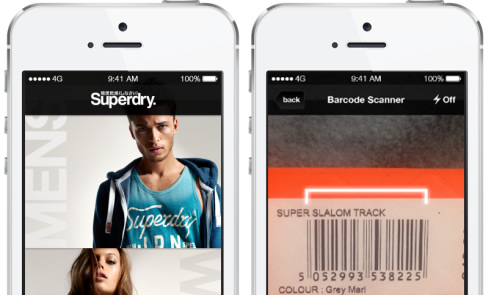SuperDry iPhone App