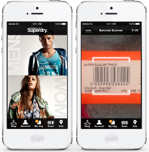 SuperDry iPhone Apps